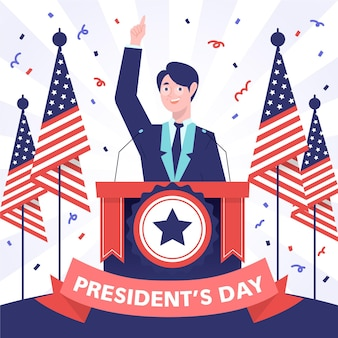 Candidato do dia do presidente sorteado