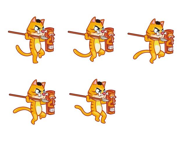 Canibal cat game sprite