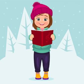Cantando canções de natal