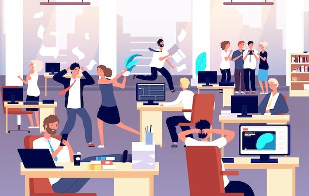 Caos no local de trabalho