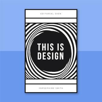 Capa de livro de design de grade