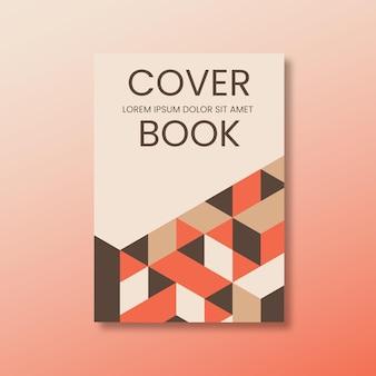 Capa de livro minimalista e moderna