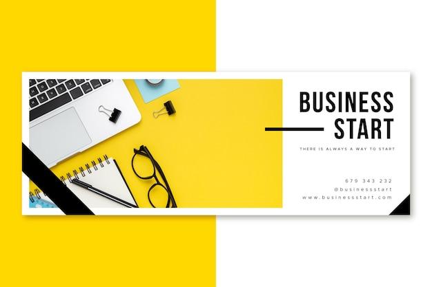 Capa de negócios do facebook
