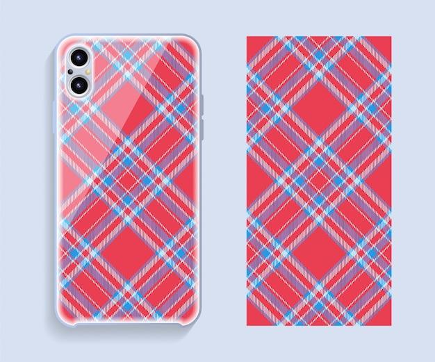 Capa para celular. modelo smartphone caso padrão.