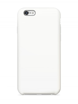 Capa traseira de smartphone mock up