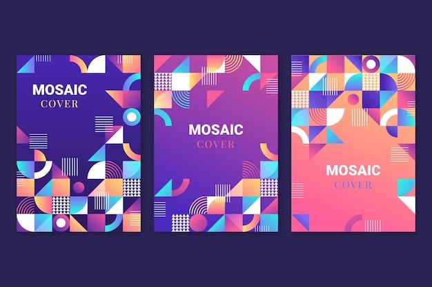 Capas de mosaico gradiente