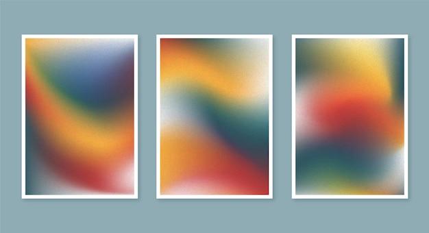 Capas desfocadas abstratas de gradiente