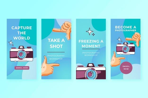 Capture as histórias do instagram do momento