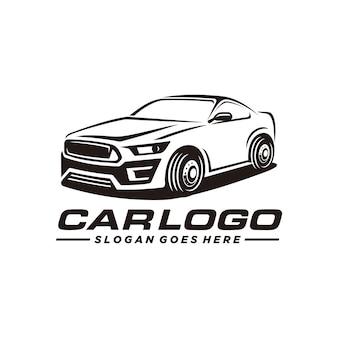 Car, auto, modelo de logotipo automotivo