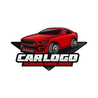 Car, modelo de logotipo automotivo