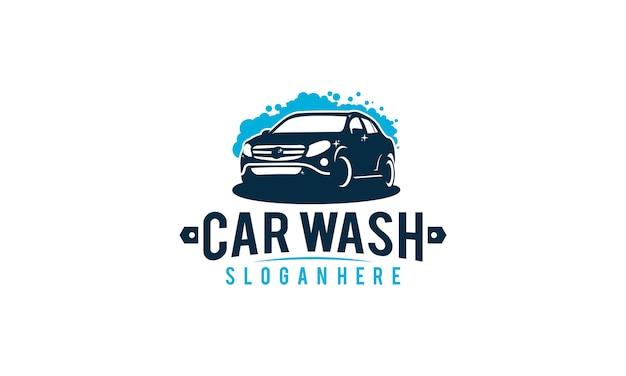 Car wash logo sticker vintage