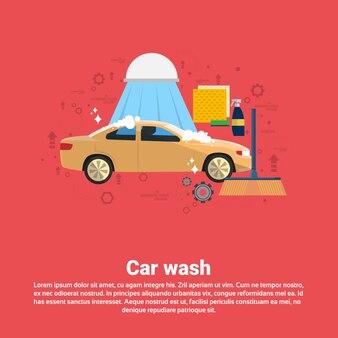 Car wash service auto negócios