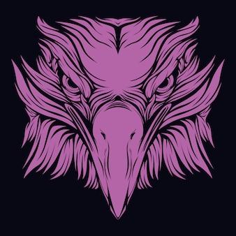 Cara de águia