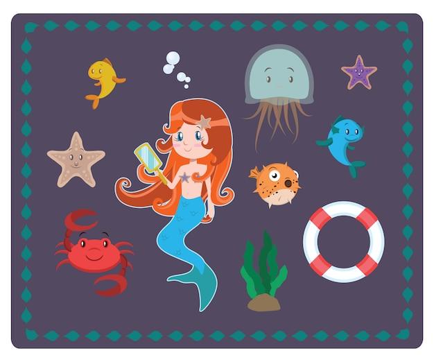 Caráter coleção mar