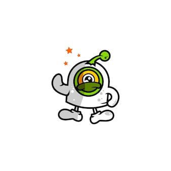 Caráter de logotipo estrangeiro
