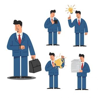 Caráter de negócios e gestão