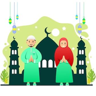 Caráter muçulmano premium