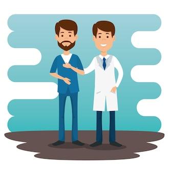 Caráteres dos avatars dos pares dos doutores