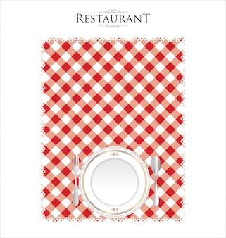 Cardápio do restaurante