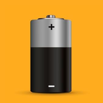 Carga da bateria com status de carregamento diferente.