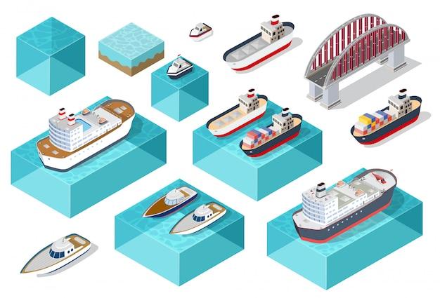 Carga isométrica de navios