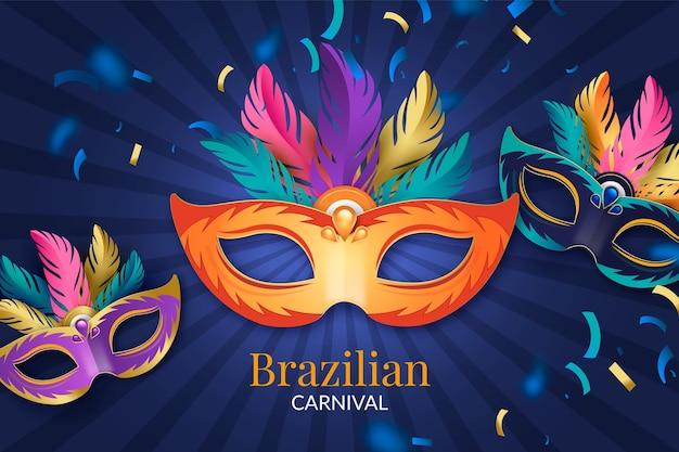Carnaval brasileiro realista