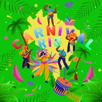 Carnaval das brasileiras