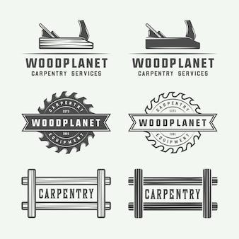 Carpintaria, logótipos de madeira