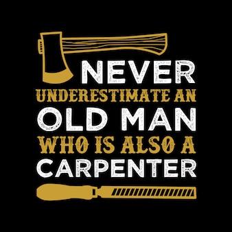 Carpinteiro citar e dizer.