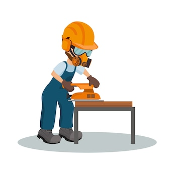 Carpinteiro masculino