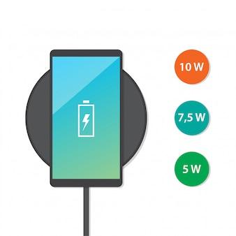 Carregador sem fio para smartphone
