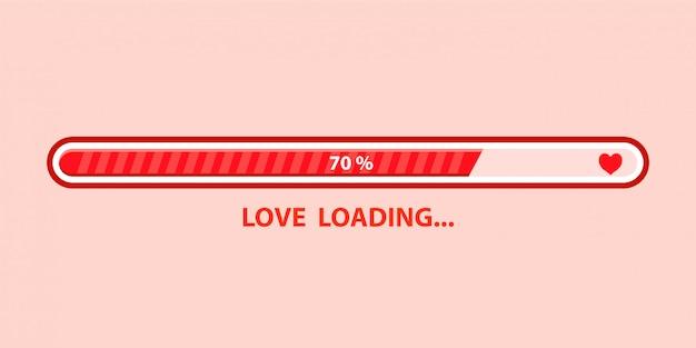 Carregamento de amor