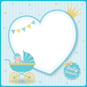 Carrinho de bebê chuveiro