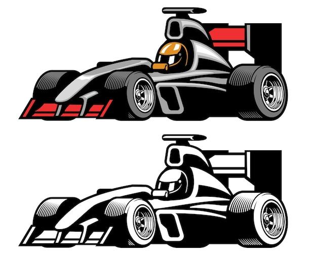Carro de corrida de fórmula