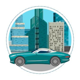 Carro de luxo para pessoas que gostam de alta velocidade.