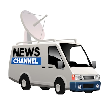 Carro de radiodifusão televisiva