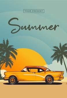 Carro de verão
