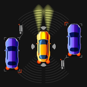 Carro esperto não tripulado