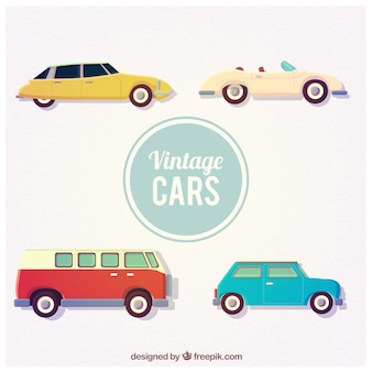 Carros antigos coleção