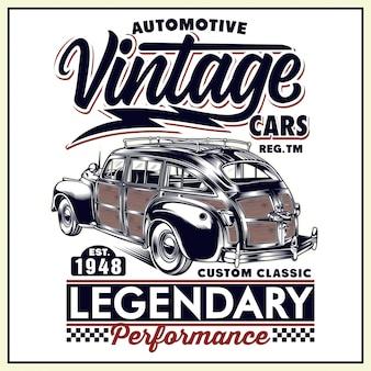 Carros automóveis vintage