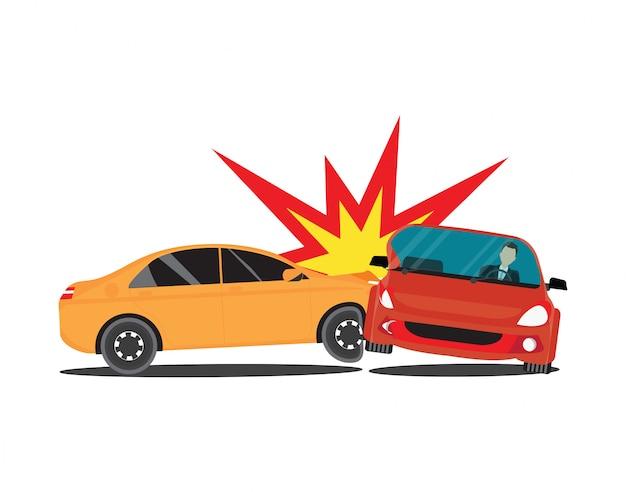 Carros do acidente