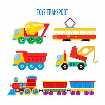 Carros infantis coloridos