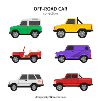 Carros off-road modernos