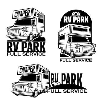 Carros rv veículos recreativos camper vans caravanas