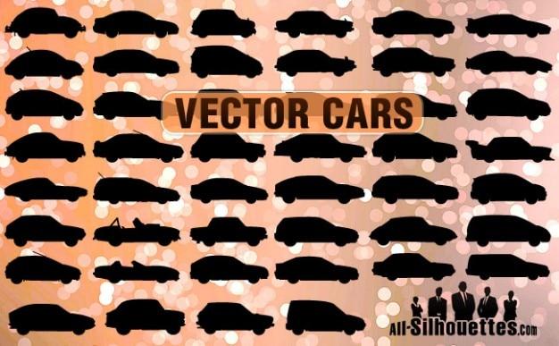 Carros vector