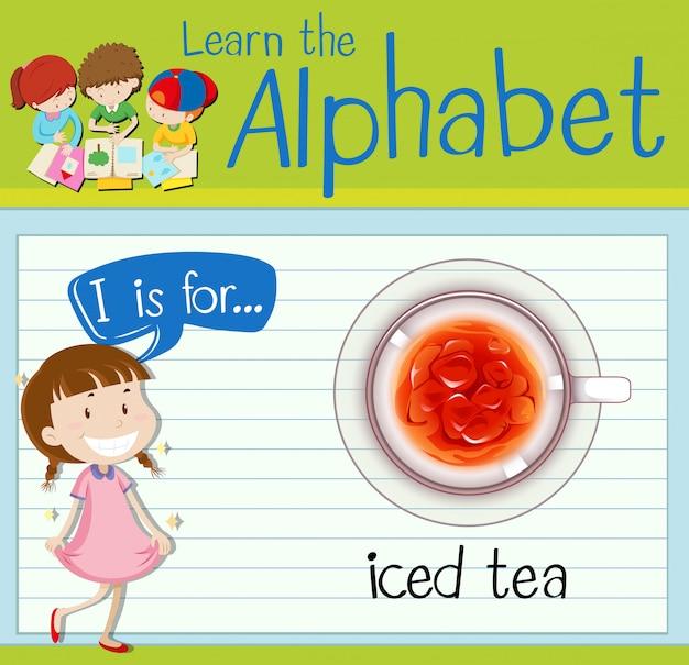 Carta de cartão de memória eu é para chá gelado