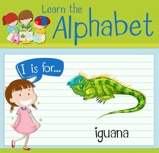 Carta de cartão de memória eu é para iguana
