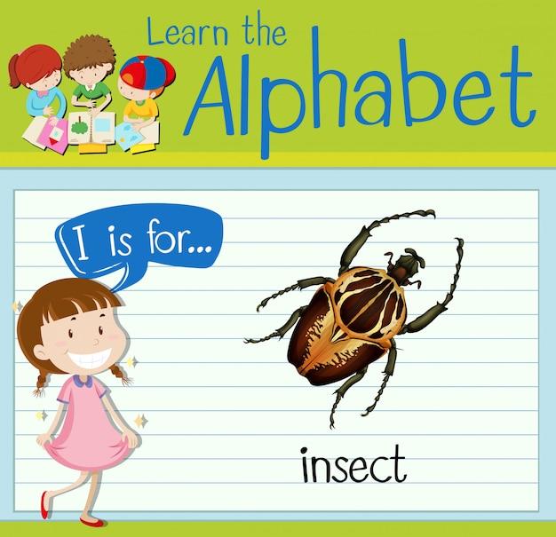 Carta de cartão de memória eu é para inseto