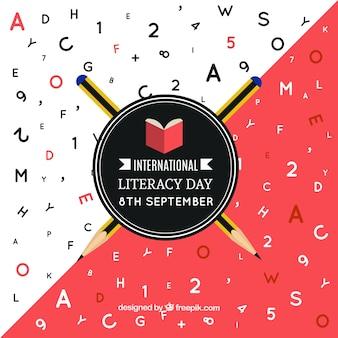 Carta do dia da alfabetização internacional
