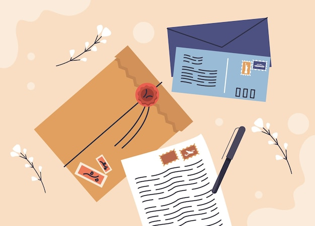 Carta e caneta
